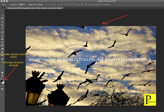 Cambiare sfondo a una foto photoshop 34