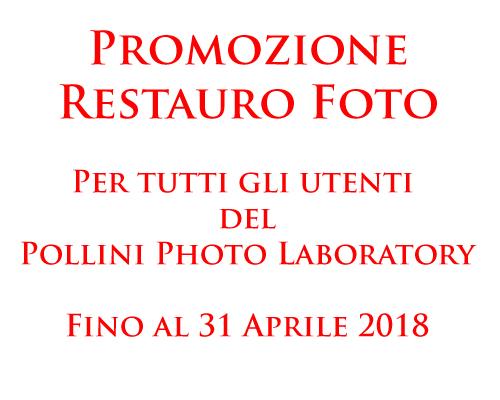 Promozione Nuovo Anno Pollini Photo Laboratory