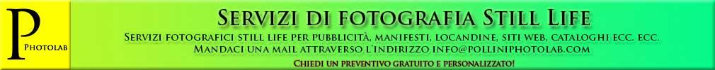 Servizi fotografici Still Life Pollini Photo Lab